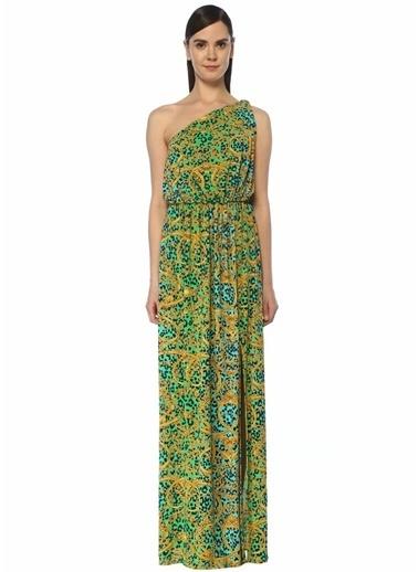 Versace Jeans Elbise Yeşil